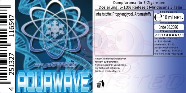 Twisted Aroma Cryostasis Aquawave