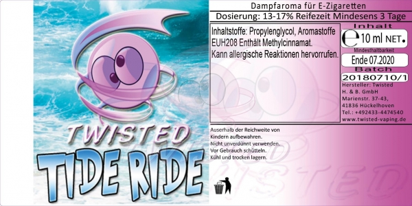 Twisted Aroma Tide Ride