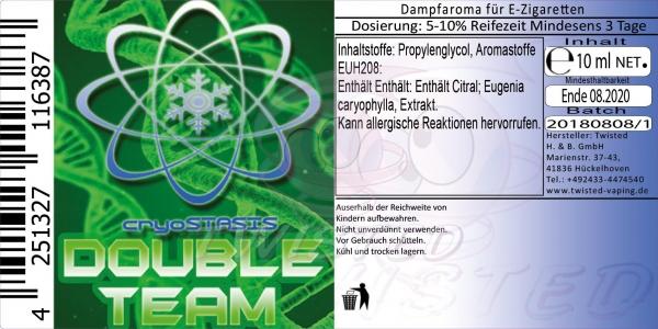 Twisted Aroma Cryostasis Double Team