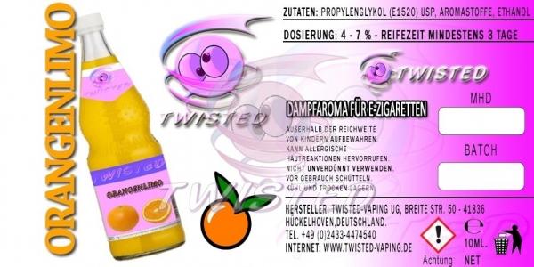 Twisted Aroma Orangen Limonade